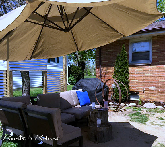 Designing a backyard patio on a budget