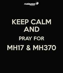 Pray for MH17 & MH370