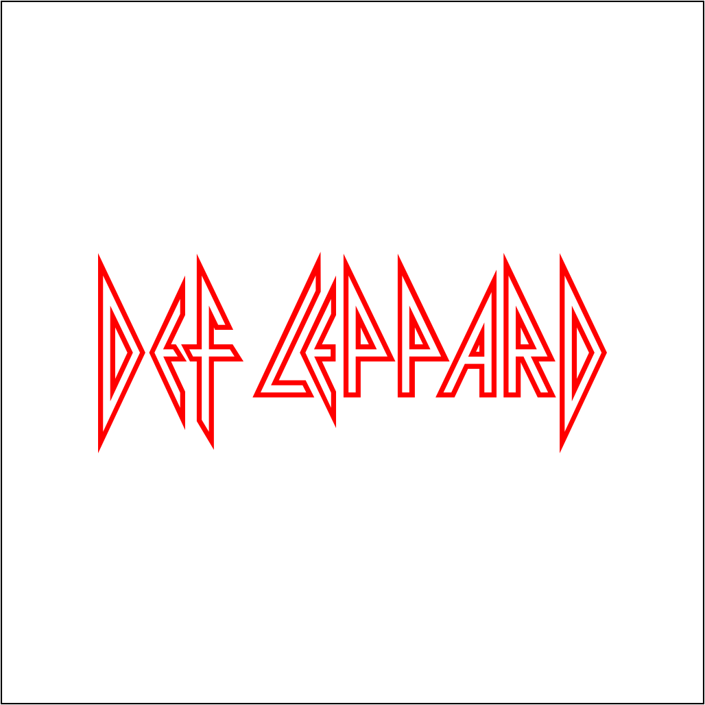 Def Leppard Logo Free Download Vector CDR, AI, EPS and PNG Formats