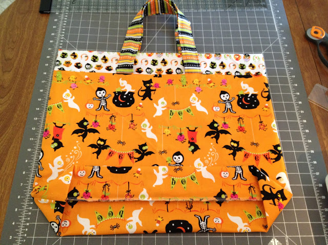 Trick or Treat Bag Tutorial