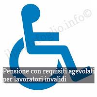 Pensione di vecchiaia lavoratori disabili