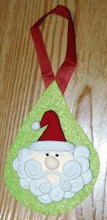 Colgante Papa Noel