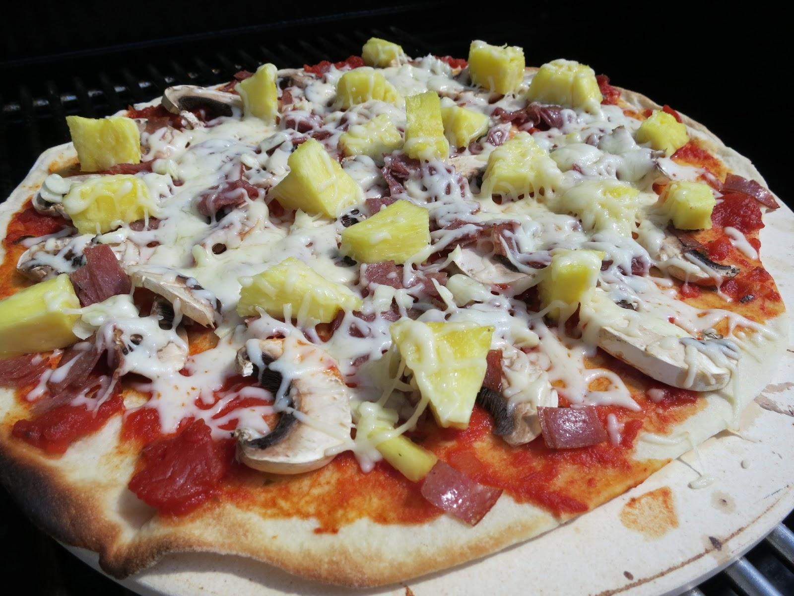 Pizzaa Grillissä