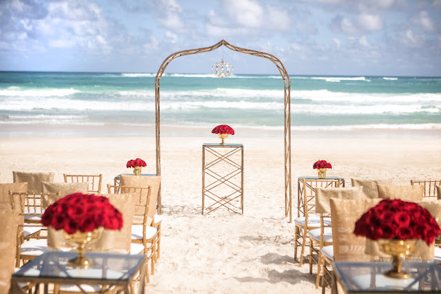 destination weddings // beach weddings // hard rock hotel weddings //