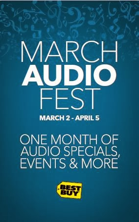 March Audio Fest - One Month of Audio Specials, Events, & More at Best Buy