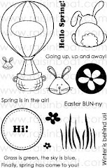 Spring Is In The Air Clear Stamps