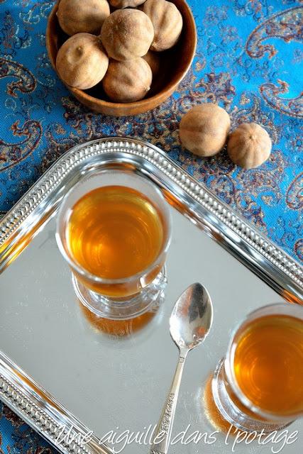 Loomi tea (décoction de citron noir)
