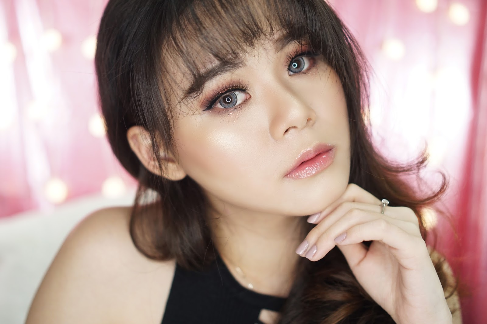 makeup, tutorial makeup, makeup tutorial, glam makeup, valentine makeup, valentine, tutorial, glam, jean milka, beauty blogger indonesia, beauty guru, beauty guru indonesia