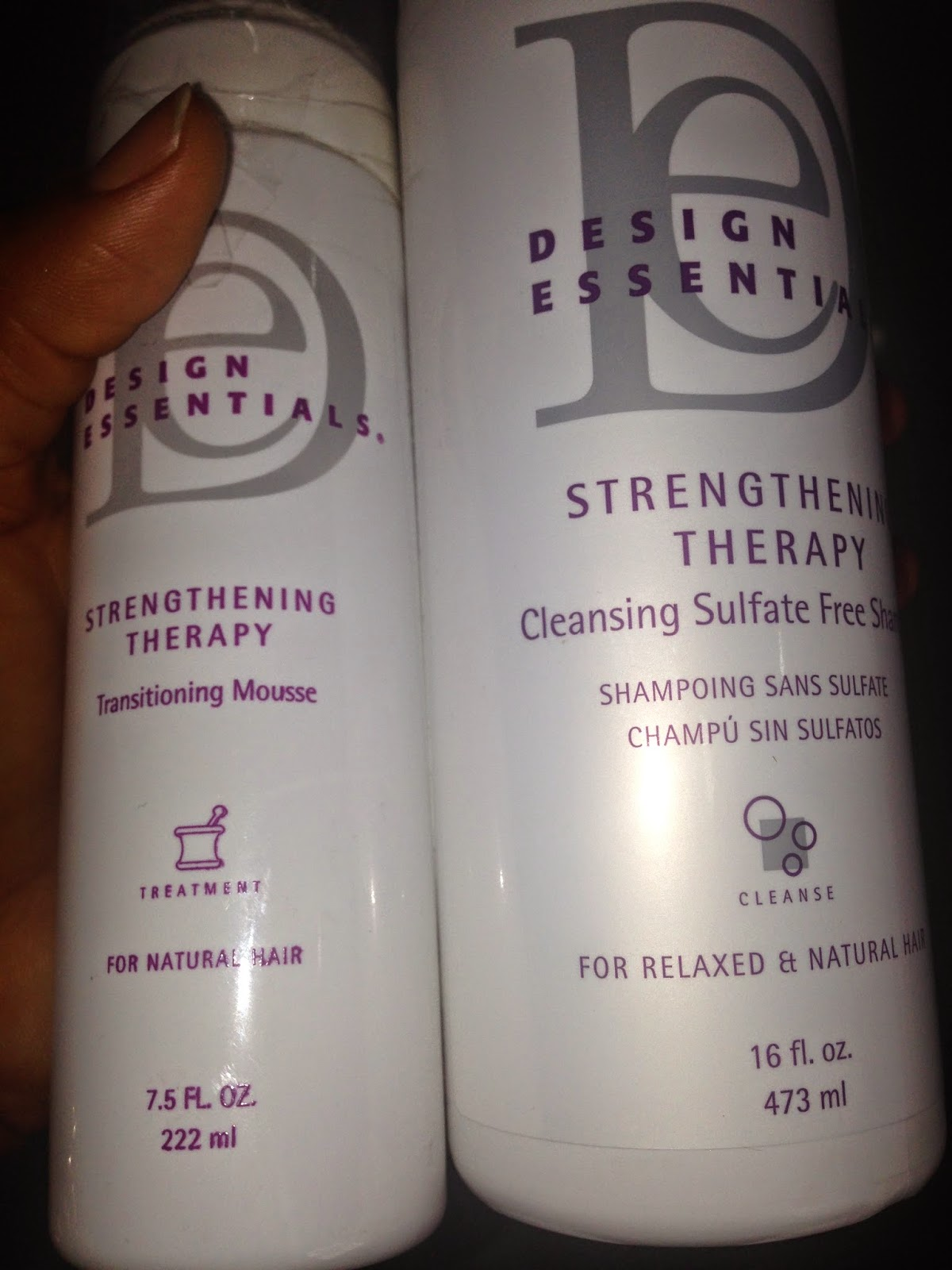 Kl S Naturals Design Essentials Strengthening Therapy System Sts Results