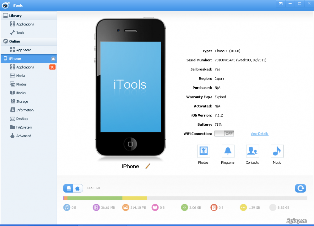 Download iTools v3 3 7 7 support IOS10 – XtechMobile
