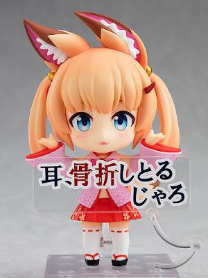 "Figuras: Imágenes del Nendoroid de Noja Loli Ijisan de ""Kemomimi Oukoku Kokuei Housou"" - Good Smile Company"