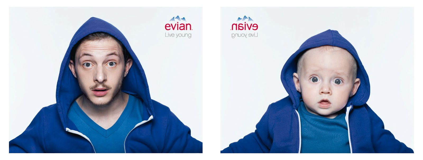 a18edb596 Evian Live Young - Baby and Me