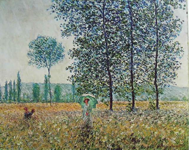 Campi in Primavera Monet