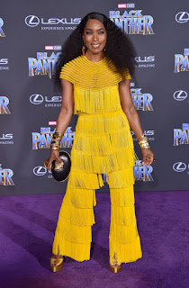 Angela Bassett At Black Panther Premiere In Hollywood