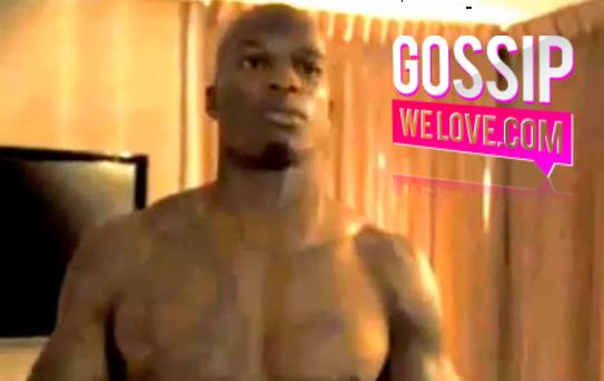 Chad Ochocinco's SECOND SEX TAPE Gets Released; Shows Off His HARD BULGE With A DRUNK Female In A Hotel Room