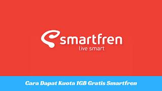 Cara Mendapat Kuota Gratis Smartfren 1GB Terbaru 2017