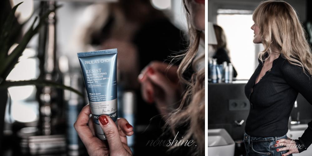 Resist Anti-Aging Skin Restoring Creme mit LSF 50/ Nowshine Beauty über 40