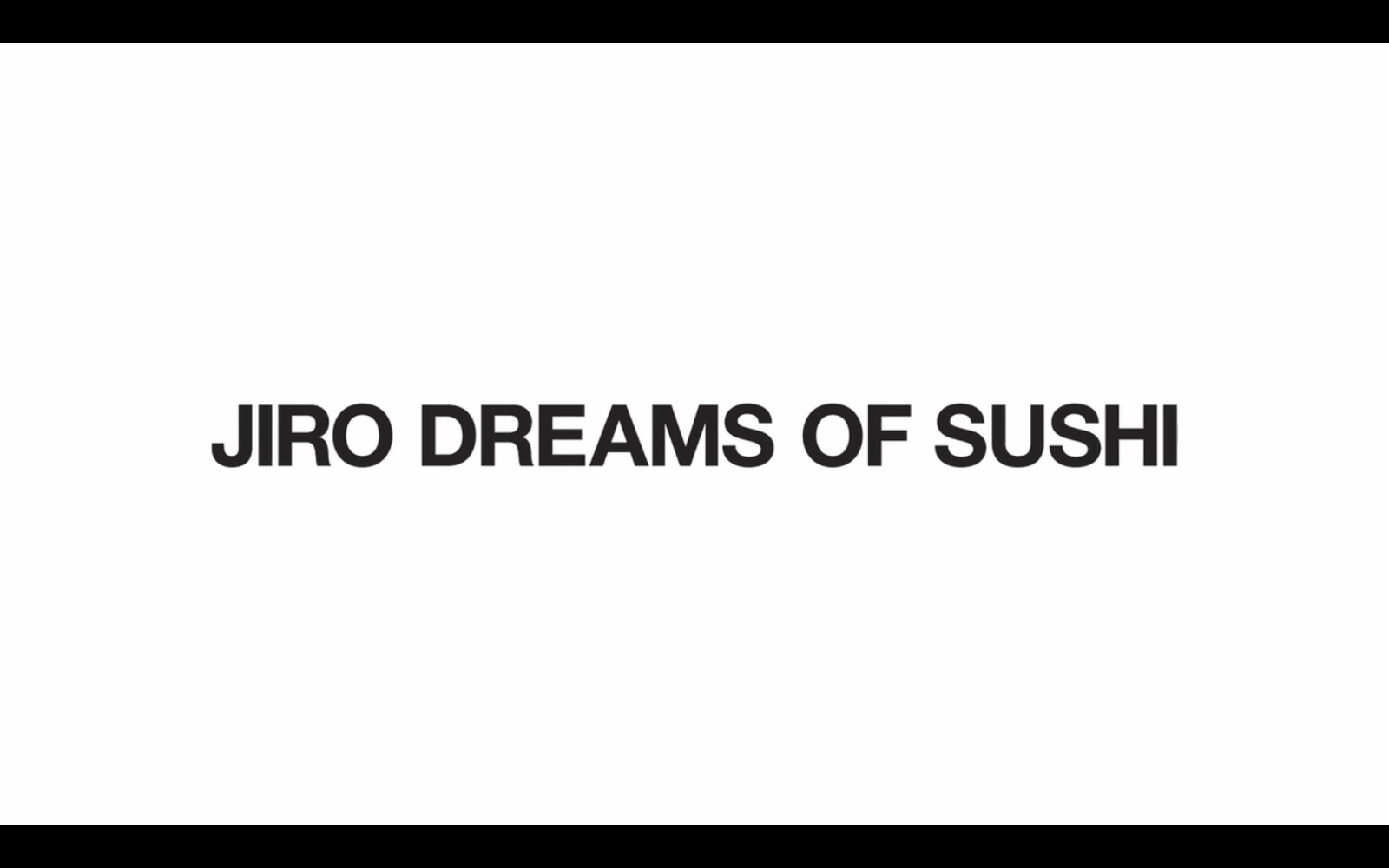 Jiro Dreams of Sushi, Netflix Documentary, Food documentary