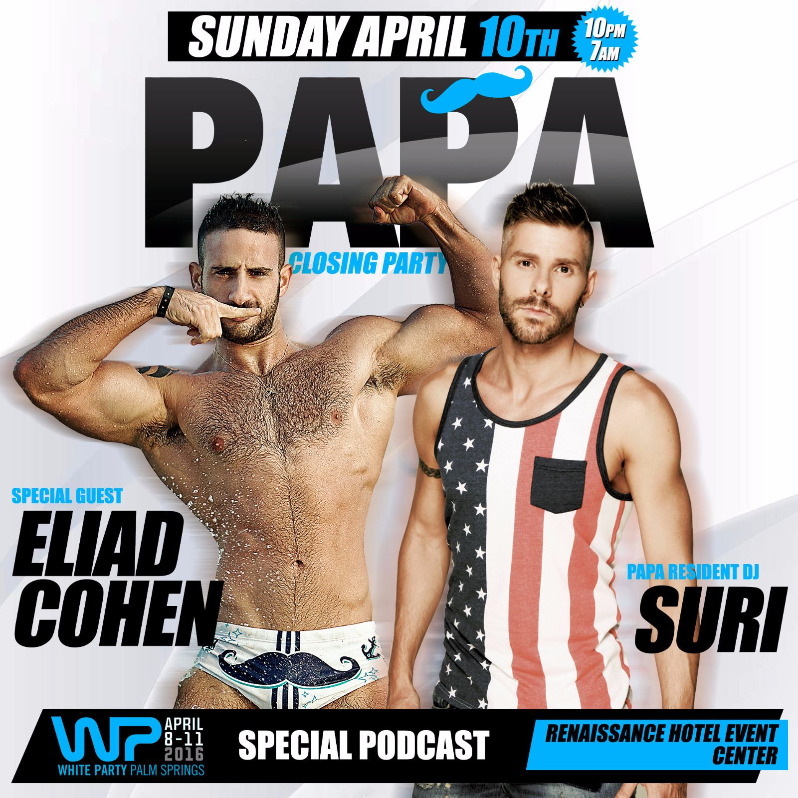 DJ Suri - Papa White Party 2k16 Podcast