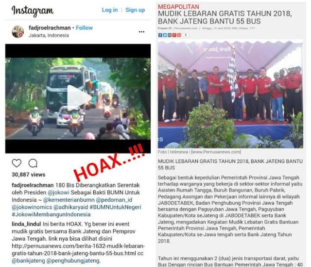 WADUH TERCYDUK! Fadjroel Sebar HOAX Mudik, Warganet: Komisaris BUMN Sebar Hoax, Malu-maluin