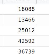 Script to convert numeric integer data of data frame column into a digit matrix.