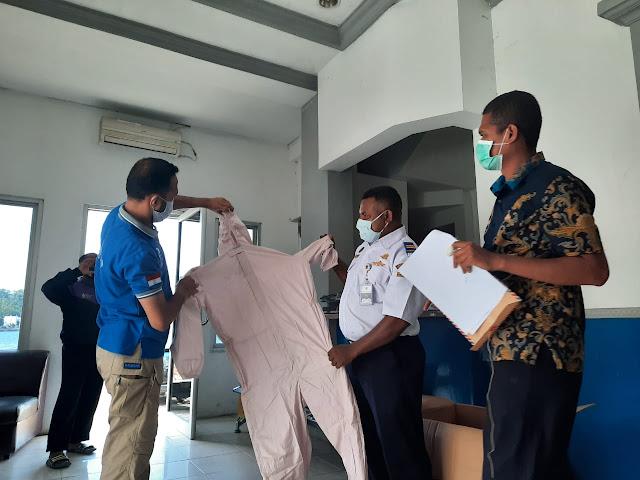 Ferra Alfaris Ungkap Syahbandar Pelabuhan Jayapura Siap Implementasikan New Normal di Papua