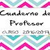 Cuaderno del Profesor 2016-2017 Descargar PDF