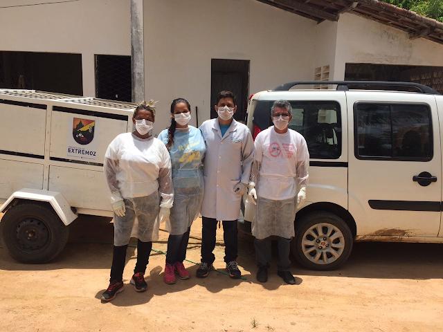 Resultado de imagem para Equipe de endemias de Extremoz sai a campo para combater a leishmaniose