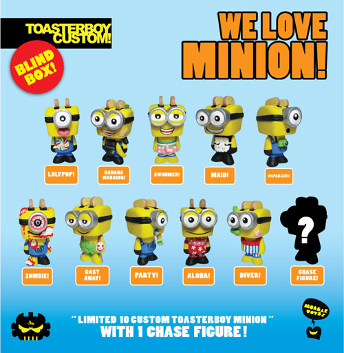 Quot Minion Quot Toasterboy Custom Minion Series From Mongartoys