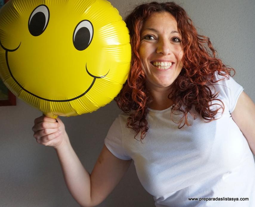 Globo sonriente