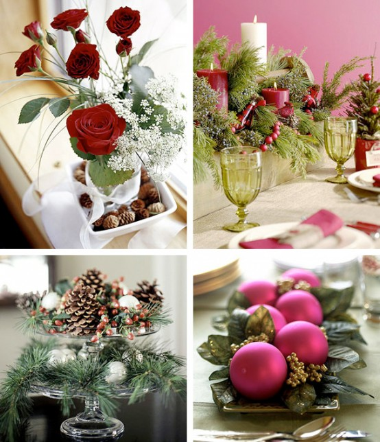 Xmas Table Centerpieces Ideas: Home Decoration Design: Christmas Decoration Ideas