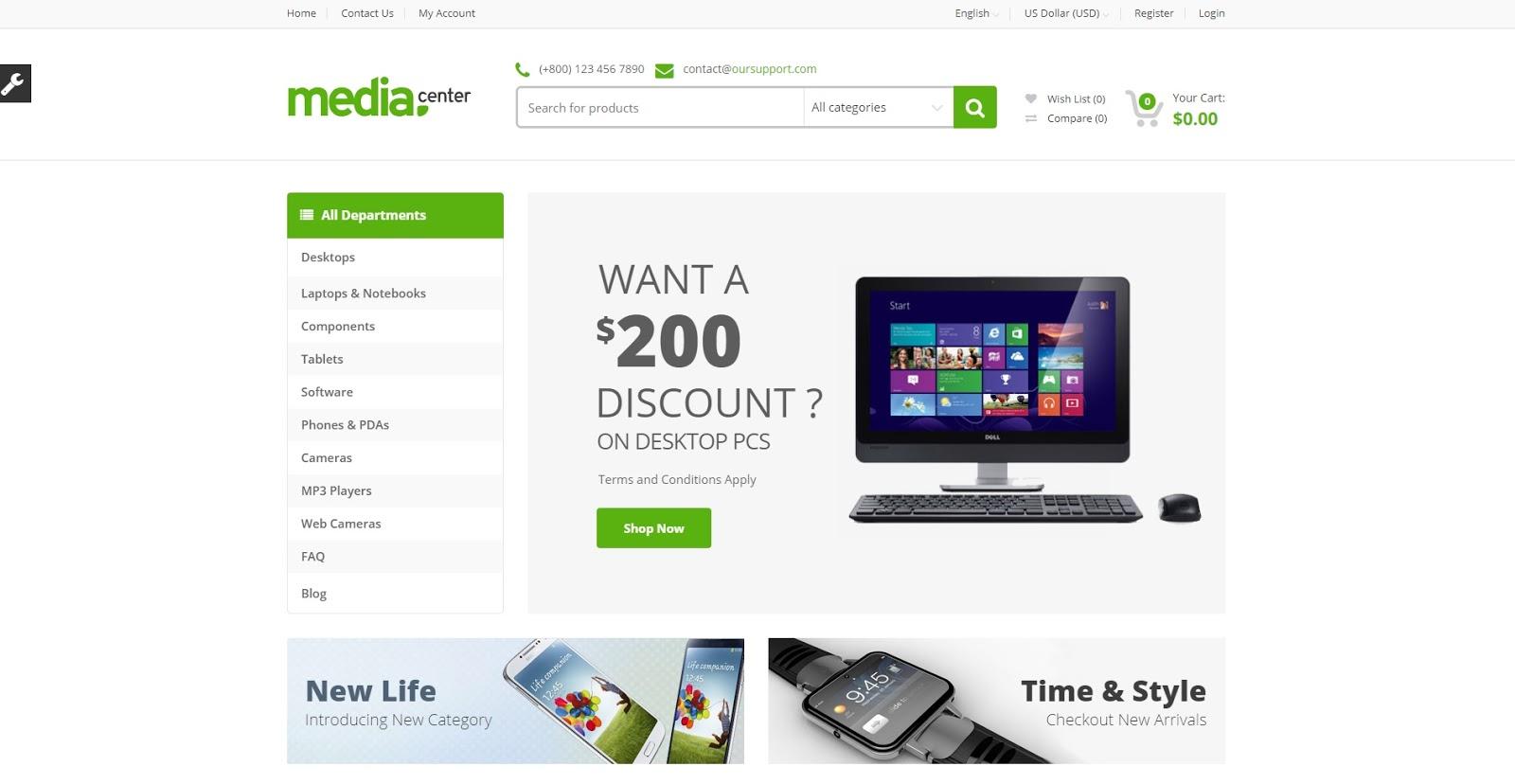 Theme WordPress Bán hàng thương mại điện tử cực đẹp Media center xomblog.blogpsot.com .jpg
