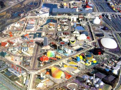 Serunya Wisata Osaka Expo Park