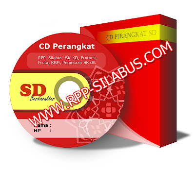 CD RPP Berkarakter SD