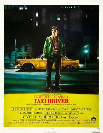 Poster Of Taxi Driver 1976 English 350MB BRRip 480p ESubs Free Download Watch Online Worldfree4u