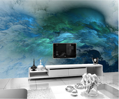 amazing 3D wallpaper for living room walls 3D wall murals images designs (95)