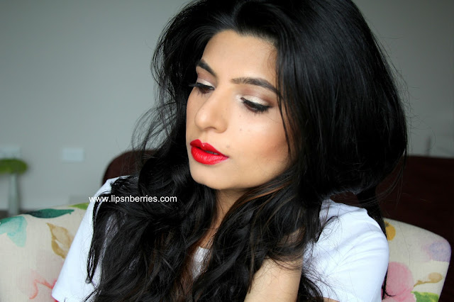 MAC limited edition red lipstick review