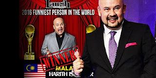 Harith Iskander Manusia Paling Lucu di Dunia