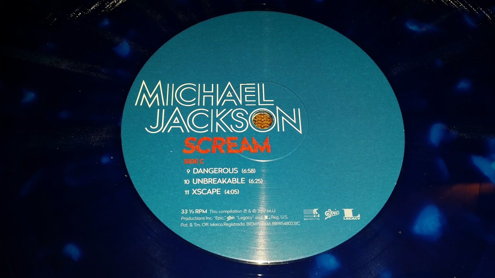The Michael Jackson Showroom: novembre 2017