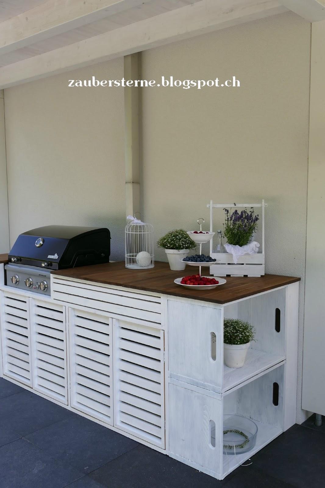 blog schweiz miriweber.ch : DIY Outdoorküche - draussen ist es am ...