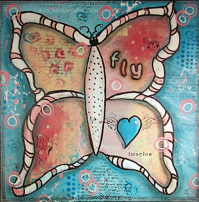 Butterfly Mixed Media