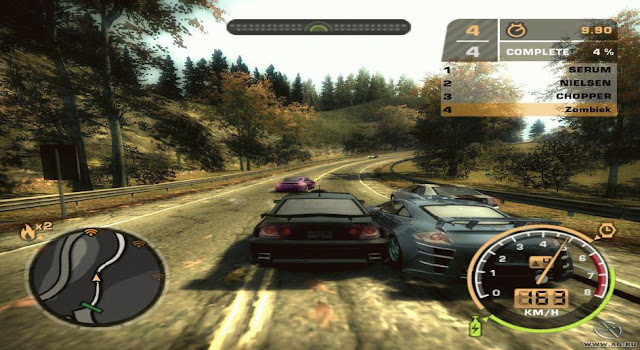 NFS Most Wanted Black Edition For Pc Free Download