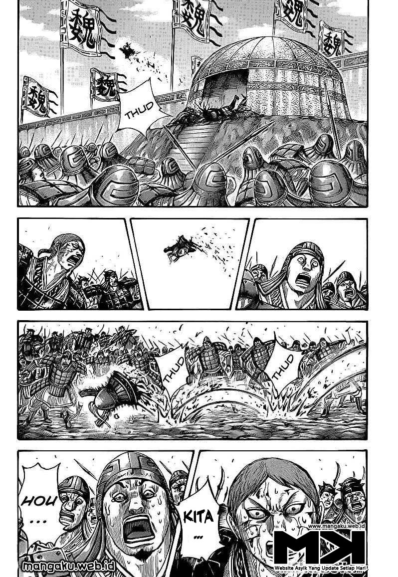 Baca Komik Manga Kingdom Chapter 400 Komik Station