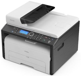 function Light Amplification by Stimulated Emission of Radiation printer amongst a broad arrive at of interfaces Ricoh SP 220SFNw Driver Download