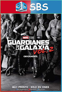 Guardianes de la Galaxia Vol. 2 (2017) 3D SBS Latino