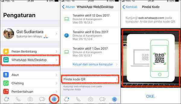 Cara WhatsApp Via Web Di PC/Desktop/Laptop
