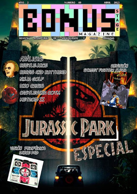 Bonus Stage Magazine #09 Especial Jurassik Park (09)