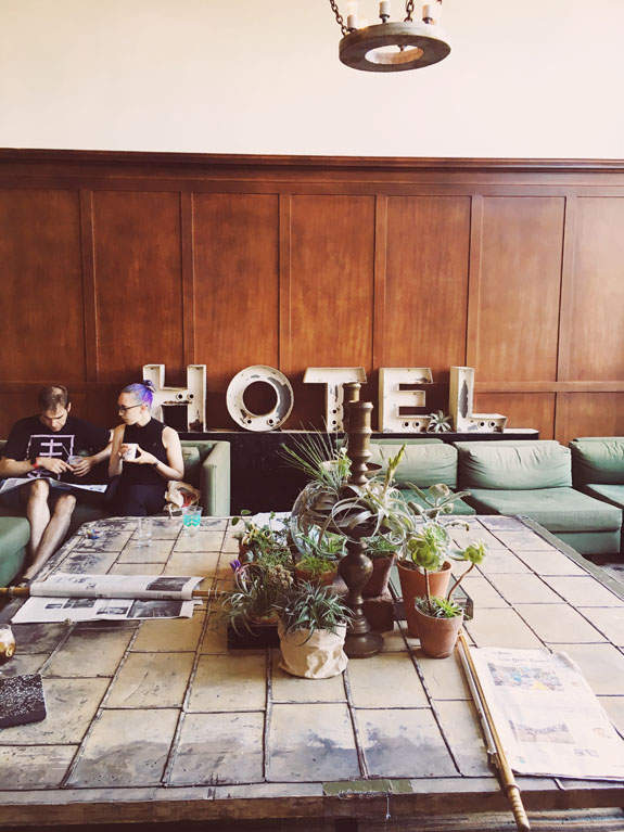 2 days in Portland Ace Hotel