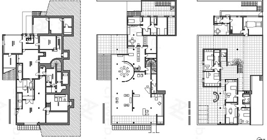 tugendhat_House_2d Tugendhat House Floor Plan Diions on
