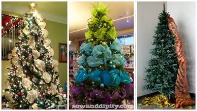 Decoración-navideña-de-árboles